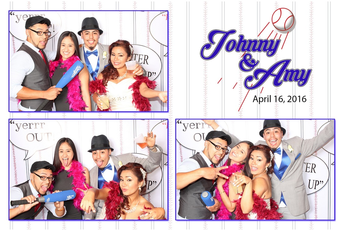 Dodger Baseball Wedding Photo Booth